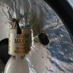 また切れた。。シーリングファンの電球の消耗が早い・・・