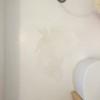 お風呂場床の割れ(最終日)