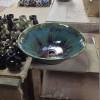 北窯の洗面鉢(沖縄やちむん)