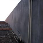 2/2 外構工事 着工20日目(人感センサー設置、土間の下準備)
