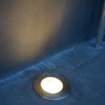 2/9 外構工事 着工29日目(駐車場の埋込み照明)