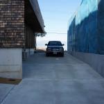 2/12 外構工事 着工32日目(ほぼ完成 初めての駐車)