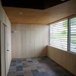 美容室の床完成(これにて家が完成)
