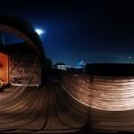 360度カメラ THETA Sで撮影。バルコニー編