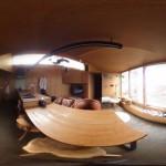 360度カメラ THETA Sで撮影。リビング編
