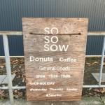 新しくオープンしたSOSOSOWに行って来た。|大阪府泉南郡熊取町